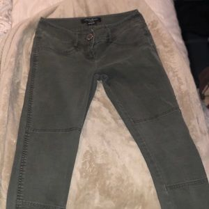 Guess by Marciano Dark Green Jeans Size 2